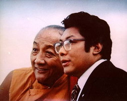 Chögyam Trungpa Rinpoche e Dilgo Rinpoche