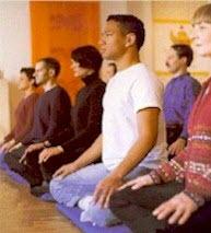 Meditação em grupo
