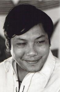 Chögyam Trungpa Rinpoche jovem